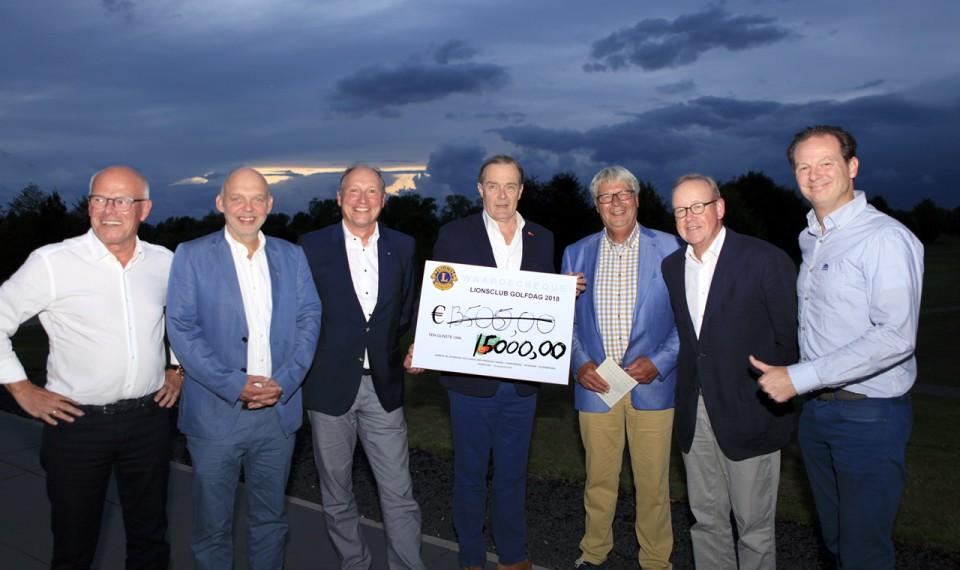 Vier LIONS Clubs golfen €15.000 bijeen voor 'Support Casper'